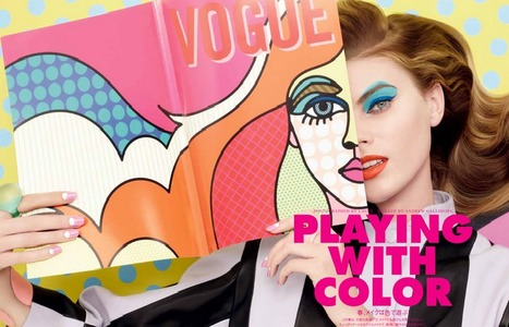 CLM - Photography - Lacey - Fashion goes Pop-Art   Pop Art - Movimento Artístico   Scoop.it