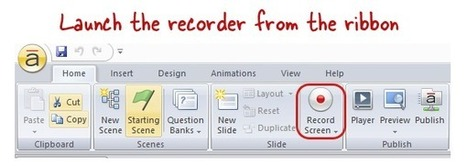 How The Storyline Screen Recorder Works - E-Learning Heroes | Moodle and Web 2.0 | Scoop.it