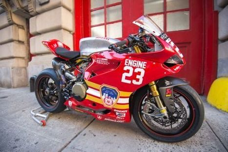 One-of-a-Kind Ducati Race Bike Honors 9/11 First Responders | Ductalk Ducati News | Scoop.it