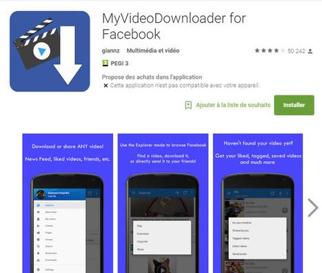 Télécharger une vidéo Facebook : ce qui marche en 2016 !   Formation multimedia   Scoop.it