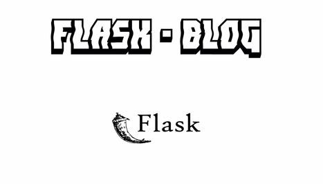 Building a Flask Blog: Part 1 | Pypix | Pypix | Scoop.it