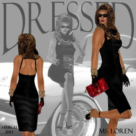 Black Dress and Accessories March 2013 Group Gift by Lexi | Teleport Hub | Second Life Freebies | Scoop.it