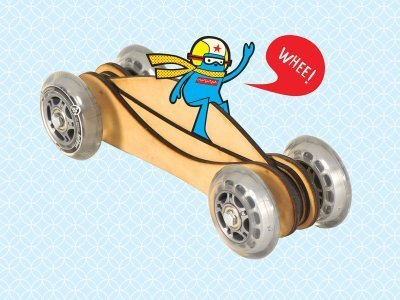 How-To: Fast Toy Wood Car | Big and Open Data, FabLab, Internet of things | Scoop.it