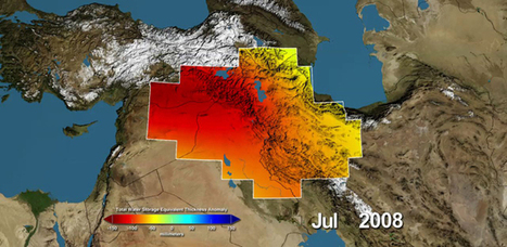 NASA Satellites Find Freshwater Losses in Middle East | Geography Education | Scoop.it