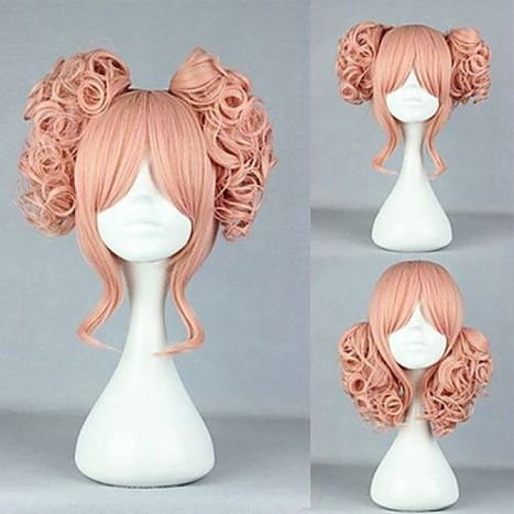 Little Girl Cosplay Wig|Pink and Gold Mixed Color 35cm Cosplay Wig |Sweet Lolita Wig|Little Girl Pink and Gold Mixed Color 35cm Sweet Lolita Wig | Cosplay Costumes | Lolita & Uniform Cosplay | Zentai Suits Cosplay | Scoop.it