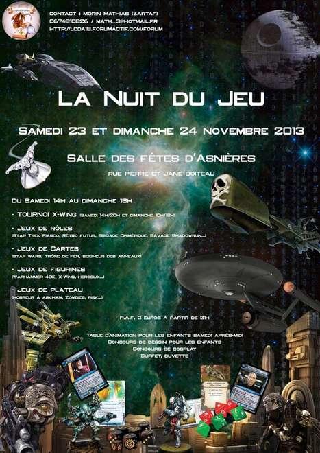 La Nuit du Jeu | Jeux de Rôle | Scoop.it