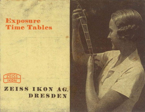 An Exposure Time Calculation Table by Zeiss Ikon from Decades Ago | Digital-News on Scoop.it today | Scoop.it