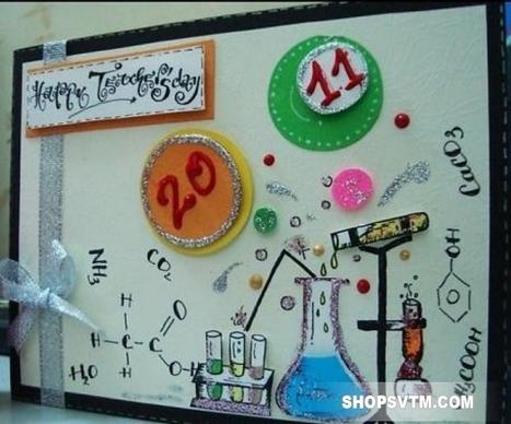 Thiệp Handmade tặng thầy cô ngày 20-11   Qùa tặng thầy cô 20-11   Scoop.it