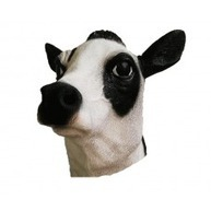 Animal Mask - Milk Cow (Latex) | Quality Party Wigs - Masquerade-Carnival.co.uk | Scoop.it