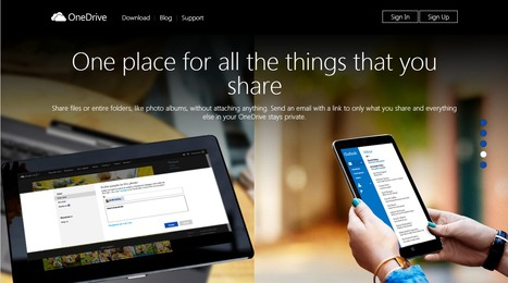 Microsoft OneDrive - Access files anywhere. Create docs with free Office Online. | ITT EdTech | Scoop.it