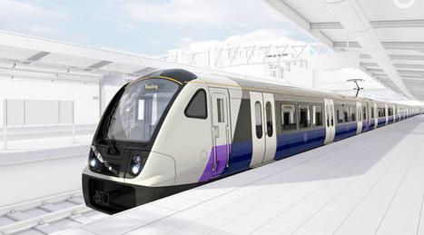 New Crossrail train designs revealed   Global railway news   Scoop.it