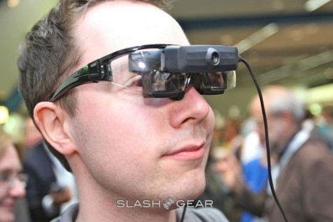 Vuzix STAR 1200 augmented reality headset hands-on [Video] - SlashGear | Augmented Reality News and Trends | Scoop.it