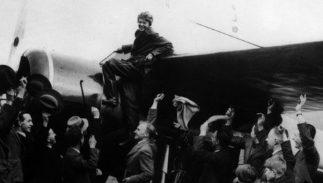 The day Amelia Earhart flew the Atlantic   obscure   Scoop.it