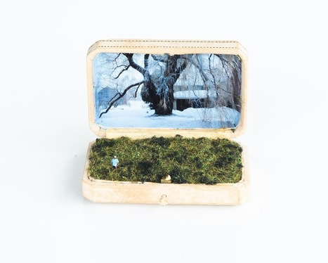 Unexpected #Scenes Hidden Inside Tiny #Jewelry #Boxes by Talwst #art #landscape #everydayobjects | Luby Art | Scoop.it