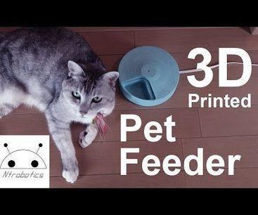 IoT Pet Feeder | Quantified Pet | Scoop.it