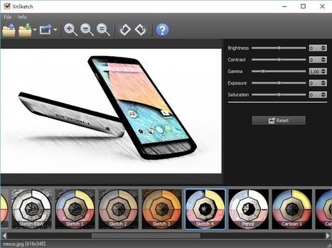 Transformer toutes vos images en croquis avec XnSketch | Trucs, Conseils et Astuces | Scoop.it