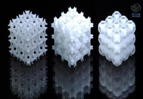 Researchers in Abu Dhabi files patent for 3D printing lightweight 'architectured foam' structures | 3D_Materials journal | Scoop.it