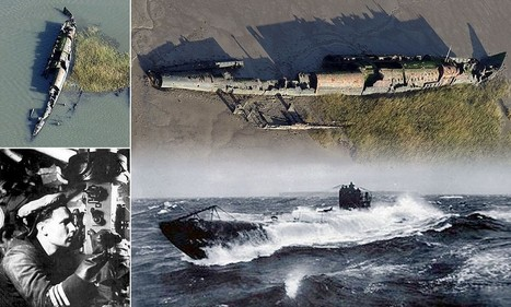 A monster off the British coast: Rusting hulk of World War One German U-boat emerges after almost a century | British Genealogy | Scoop.it