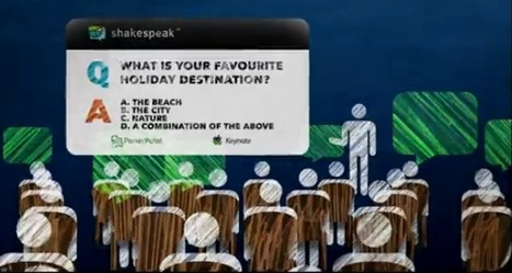 Shakespeak: engage your audience | Digital Presentations in Education | Scoop.it