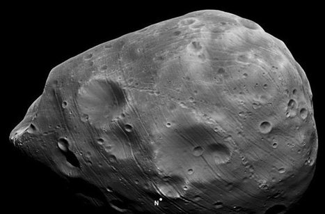 Mars Mission Buzzes Weird Moon Phobos : DNews | Vloasis sci-tech | Scoop.it
