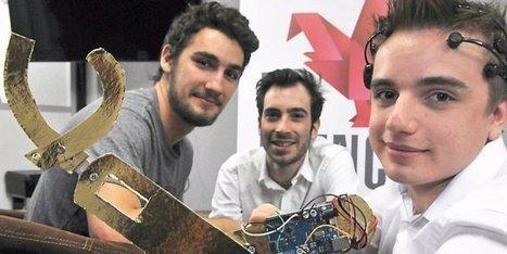 Montpellier : trois jeunes inventent un casque neuronal | Financement innovation, Recherche et Développement | Scoop.it