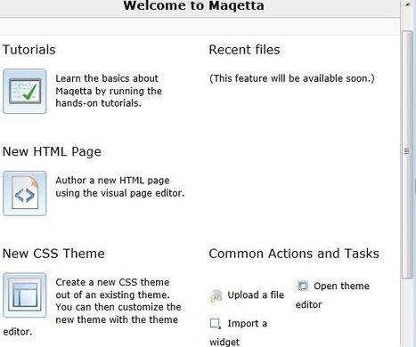 Free Online HTML5 Editor: Maqetta | Free Software | Free software | Scoop.it