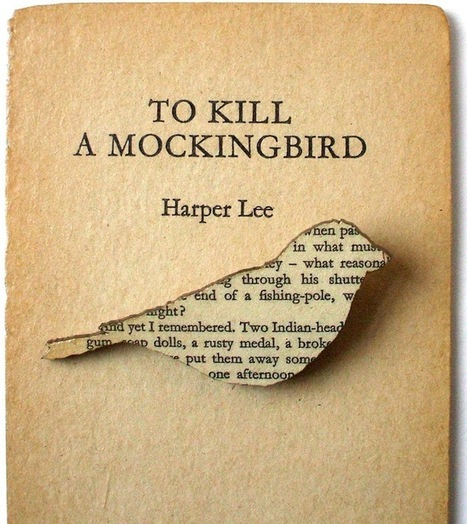 Text from Classic Books Recycled Into Charming Brooches | Google Lit Trips: Reading About Reading | Scoop.it
