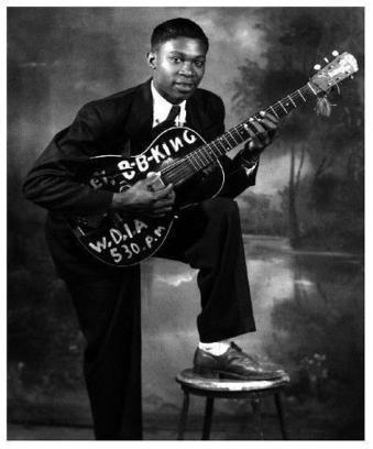 Le jeune BB King   Facebook   Blues Music   Scoop.it