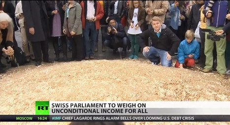 Cash Bern: Swiss may grant unconditional income for all | Saif al Islam | Scoop.it