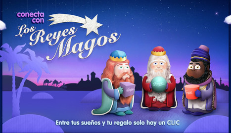 Conecta con los Tres Reyes Magos | Español para los más pequeños | Scoop.it