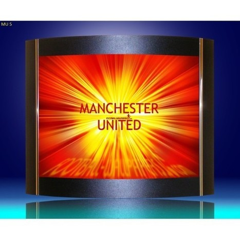 Wall lamps, sconces, Manchester United logo as a lamp shades. | Lighting bargains | Scoop.it