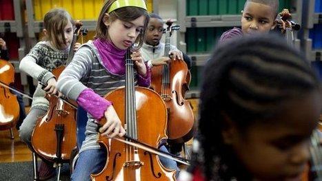 'Muziekles op school is net zo belangrijk als taal en rekenen'   Community muziek   Scoop.it