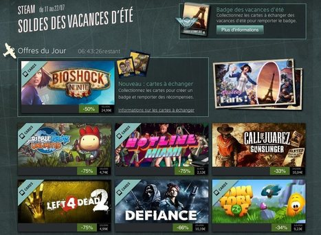 Soldes d'été sur Steam : C'est parti! | Bullying-101 | Scoop.it