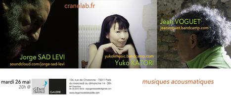 Musiques Acousmatiques @ La Galerie du génie de la Bastille   Jean VOGUET compositeur   Scoop.it