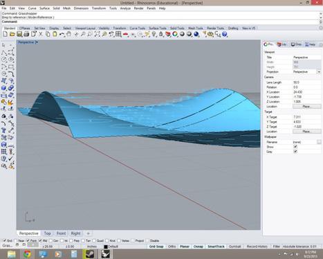 13.09.23 Grasshopper Driven CNC Plunge Roughing Script – Grasshopper | Architecture, design & algorithms | Scoop.it
