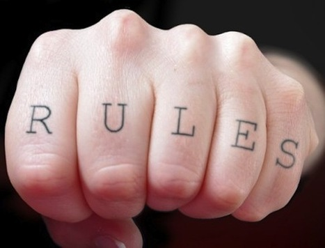 Baffling Dictums: On the Rules of Writing | Creative Writers | Scoop.it