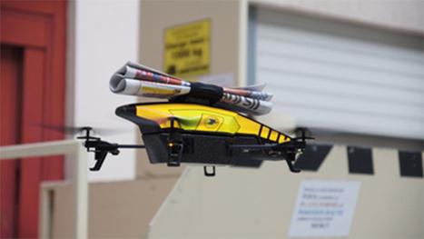 La Poste va tester la livraison de la presse quotidienne par Drone | Le monde postal | Scoop.it