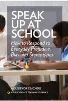 Speak Up at School | Teaching Tolerance | Jeremiah's Hope for Kindness | Scoop.it