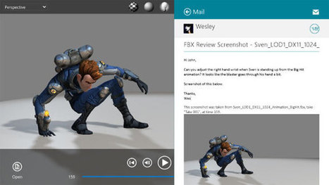 Autodesk introduced FBX Review for Apple Mac OS X and iOS7 | 3d information 2013 | Scoop.it