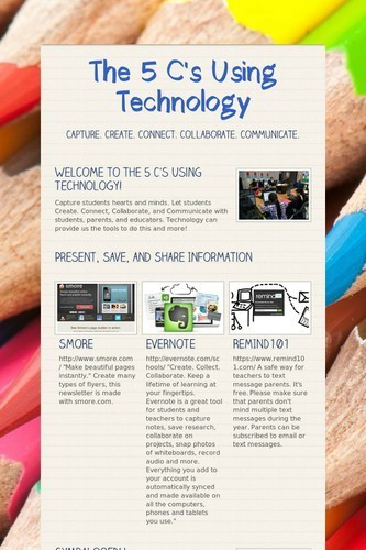 The 5 C's Using Technology | Global Digital Literacy | Scoop.it