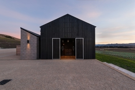 Sustainable Design in New Zealand: Black Estate Winery by RTA Studio | scatol8® | Scoop.it