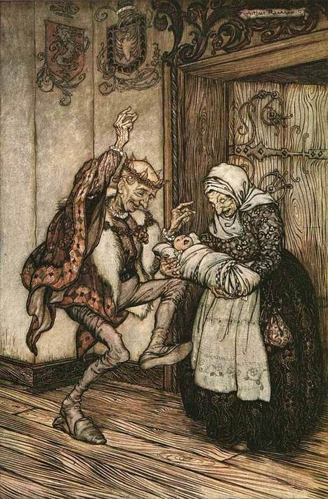 Arthur Rackham's Rare and Revolutionary 1917 Illustrations for the Brothers Grimm Fairy Tales | Complexity Science | Scoop.it
