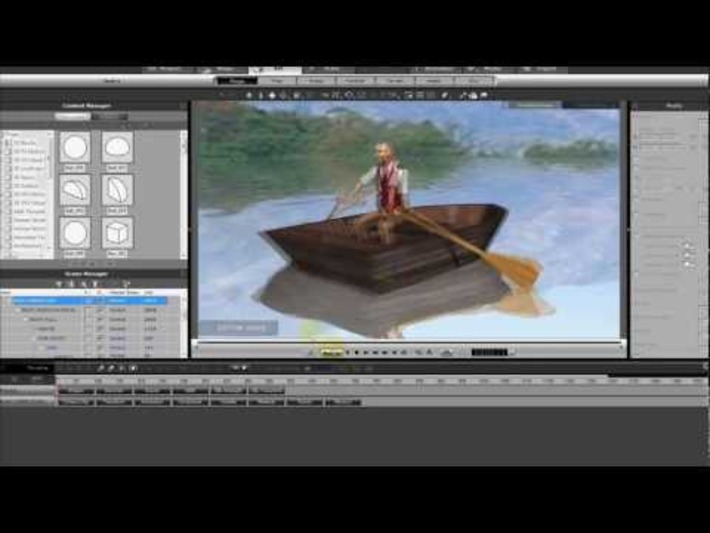 iClone5 - ROW YOUR BOAT by SmallWStudio « Safegaard – Movie Theater | Machinimania | Scoop.it