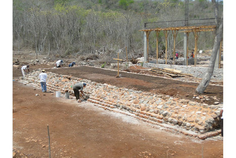 Mexican archaeologists find ancient ball game court on construction site of basketball court | Art Daily | Kiosque du monde : Amériques | Scoop.it