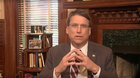 NC Gov. Pat McCrory on Anti-LGBT Bill: We've Been 'The Target of a Vicious, Nationwide Smear Campaign' - Towleroad | Gay Relevant | Scoop.it