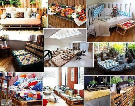Pallet Furniture: Recycling Pallets into Unique Furniture Pieces | Designer | Scoop.it