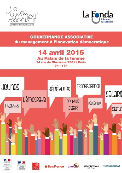 GOUVERNANCE associative : du management à l'innovation démocratique - FONDA | actions de concertation citoyenne | Scoop.it