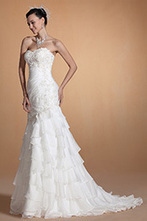 [EUR 249,99] Carlyna 2014 Nouveauté Elegant Décolleté Coeur Dentelle Robe de Mariée(C37145207) | robe de mariée, robe de soirée | Scoop.it