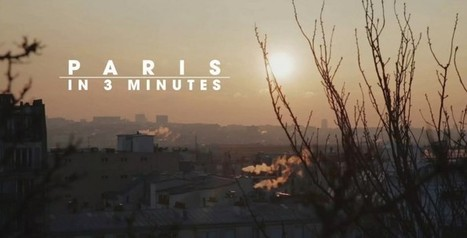 Un hyperlapse de Paris en 3 minutes | Remue-méninges FLE | Scoop.it