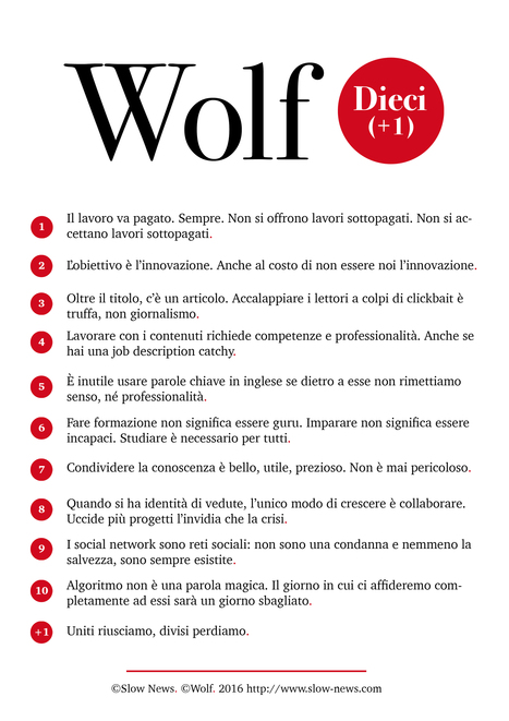 Manifesto per professionisti della comunicazione | Giornalismo Digitale | Scoop.it